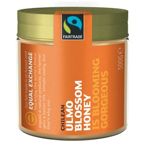 Equal Exchange Fairtrade Chilean Ulmo Blossom Honey