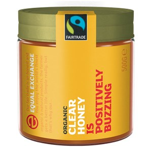 Equal Exchange Organic Fairtrade Clear Honey 500g