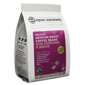 Equal Exchange Organic Fairtrade Medium Roast Coffee Beans