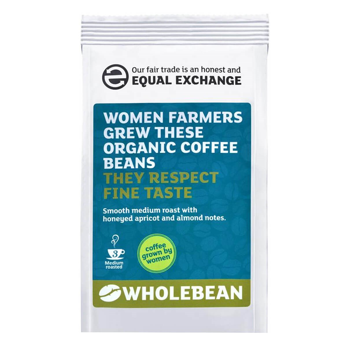 Equal Exchange Organic Fairtrade Women Grown Coffee Beans