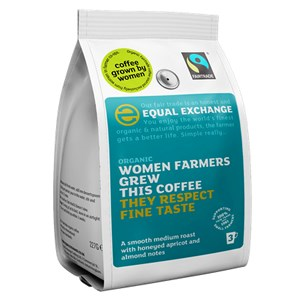 Equal Exchange Organic Fairtrade Women Grown Ground Coffee