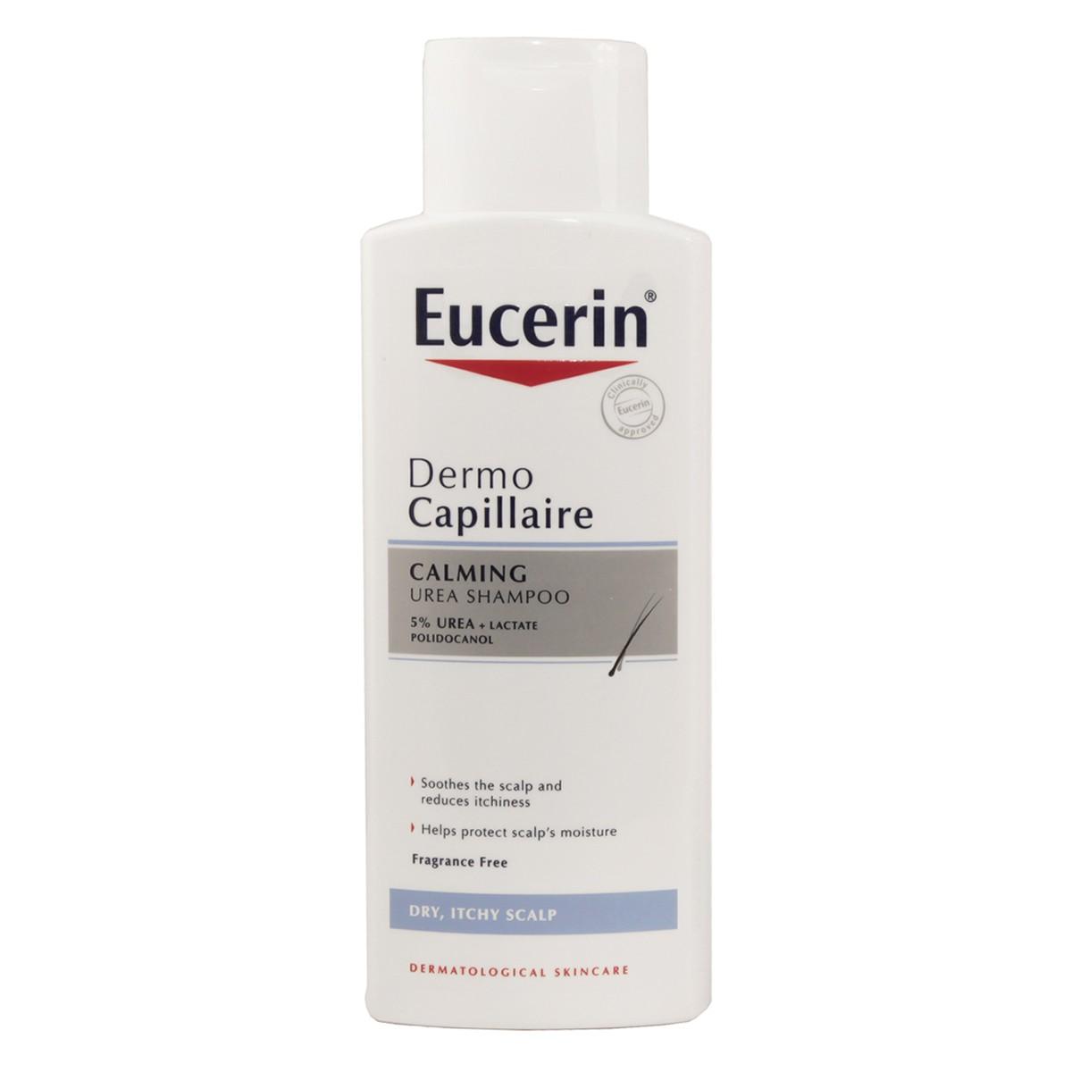 Eucerin Dermo Capillaire Calming Urea Shampoo