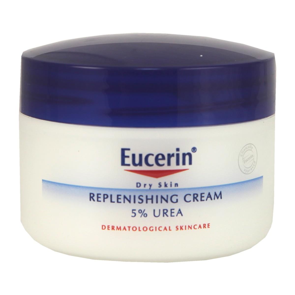 Eucerin Replenishing Cream 5% Urea with Lactate & Carnitine