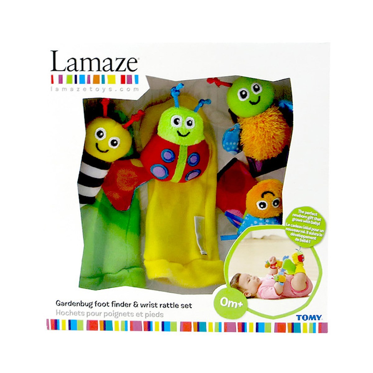 Lamaze Foot Finder & Wrist Rattle Set