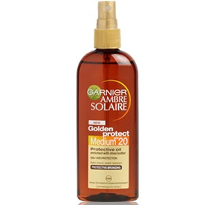 Garnier Ambre Solaire Golden Protect Oil SPF20 Spray