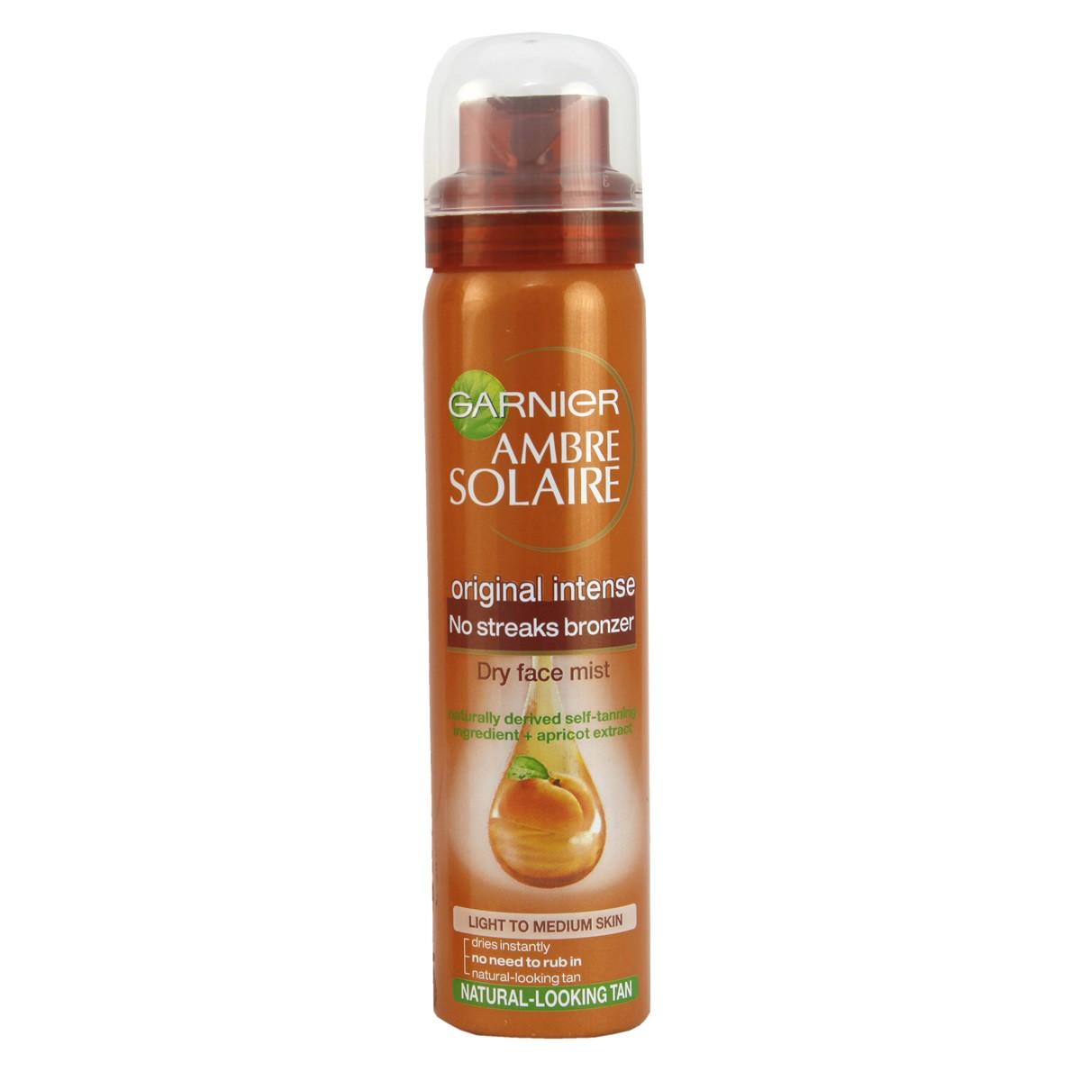 Garnier Ambre Solaire No Streaks Bronzer Face Mist (Original)