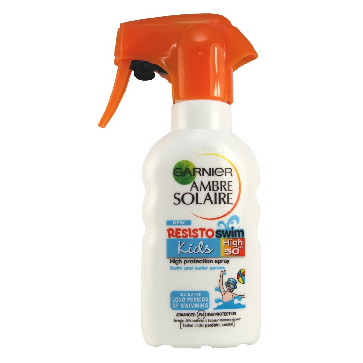 Garnier Ambre Solaire Resisto  Swim Kids Spray SPF50