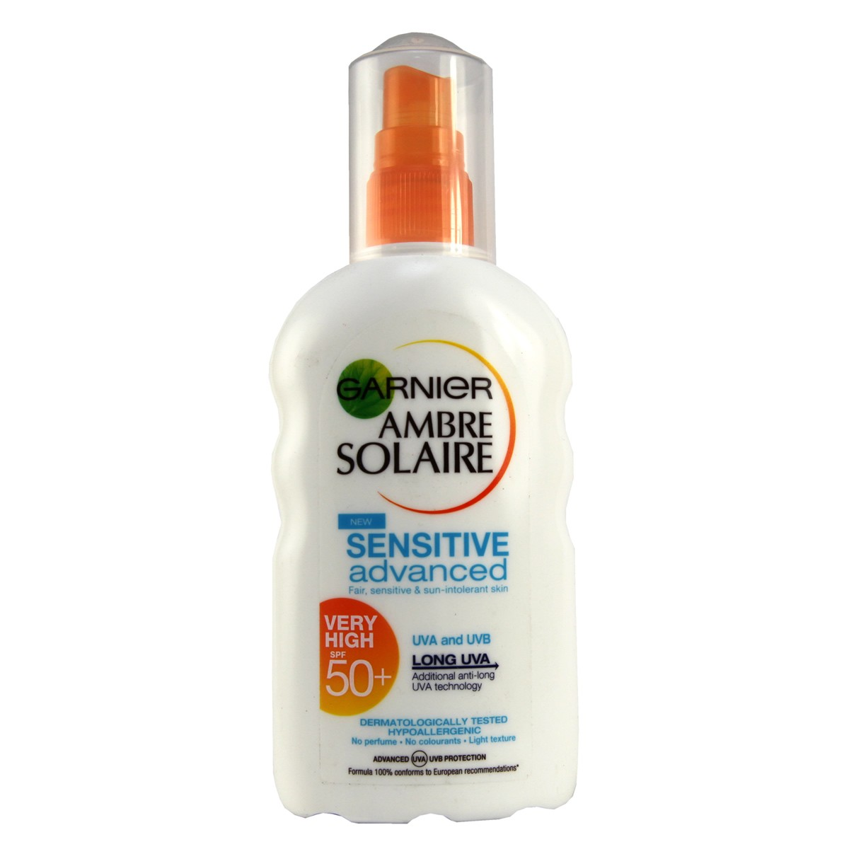 Garnier Ambre Solaire Sensitive Advanced Very High Protection Spray SPF50+