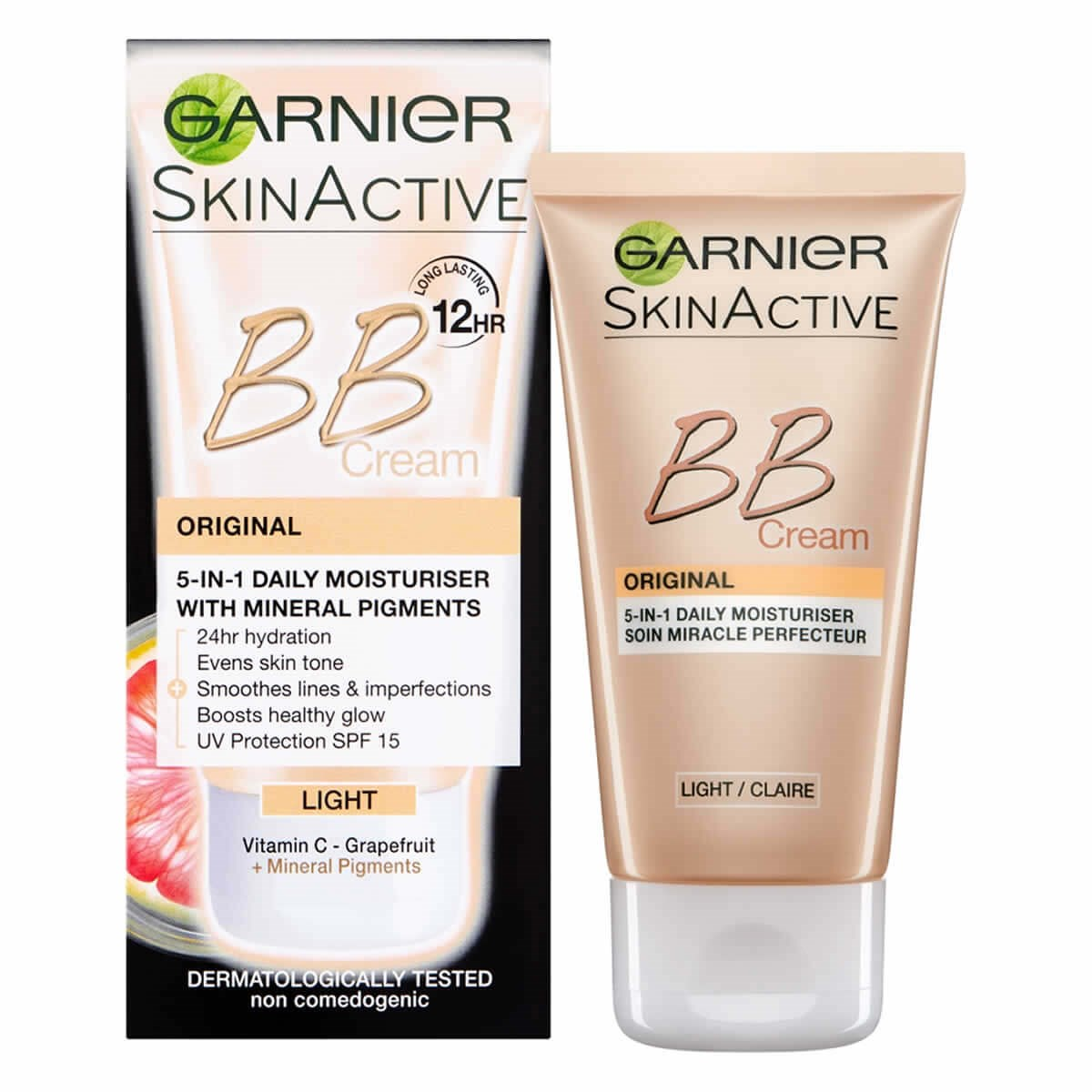 Garnier SkinActive BB Cream Original 5-in-1 Daily Moisturiser Light