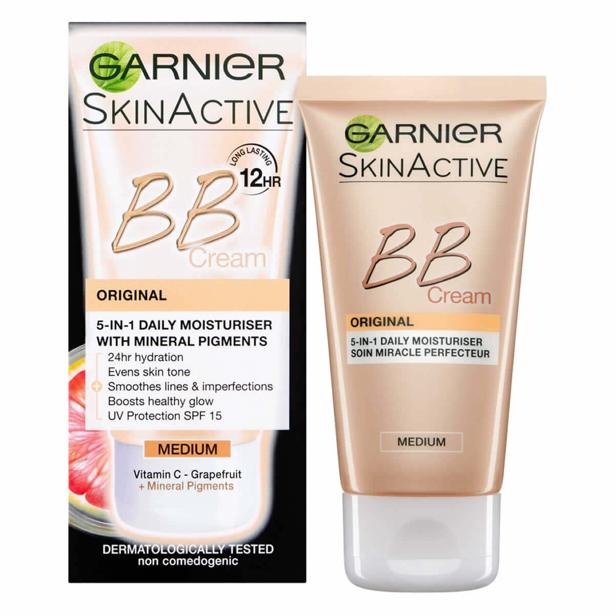 Garnier SkinActive BB Cream Original 5-in-1 Daily Moisturiser Medium