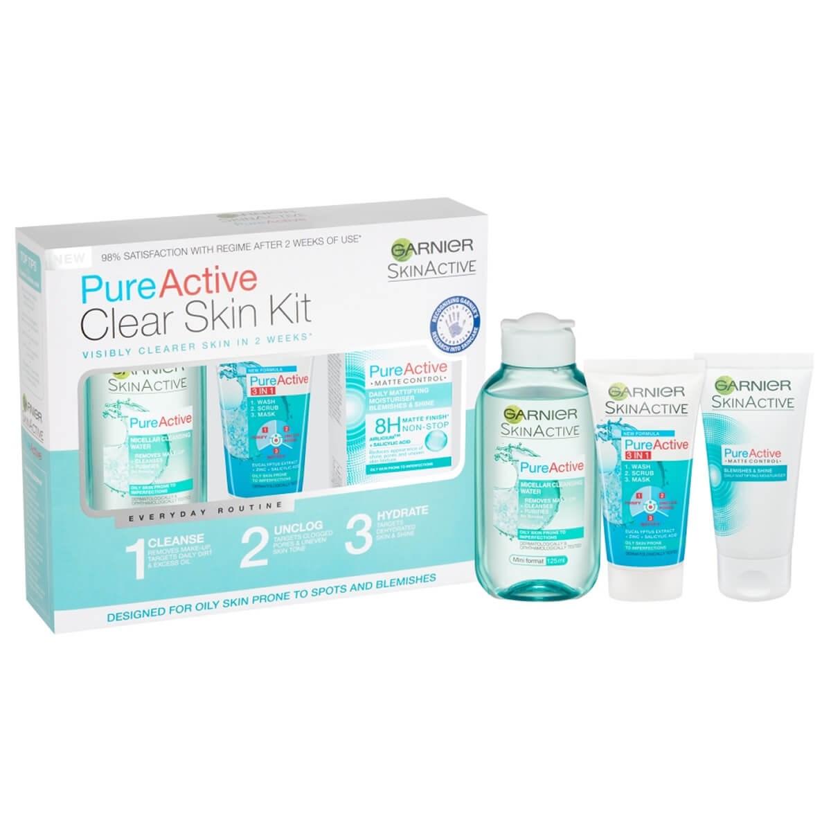 Garnier Pure Active Clear Skin Kit