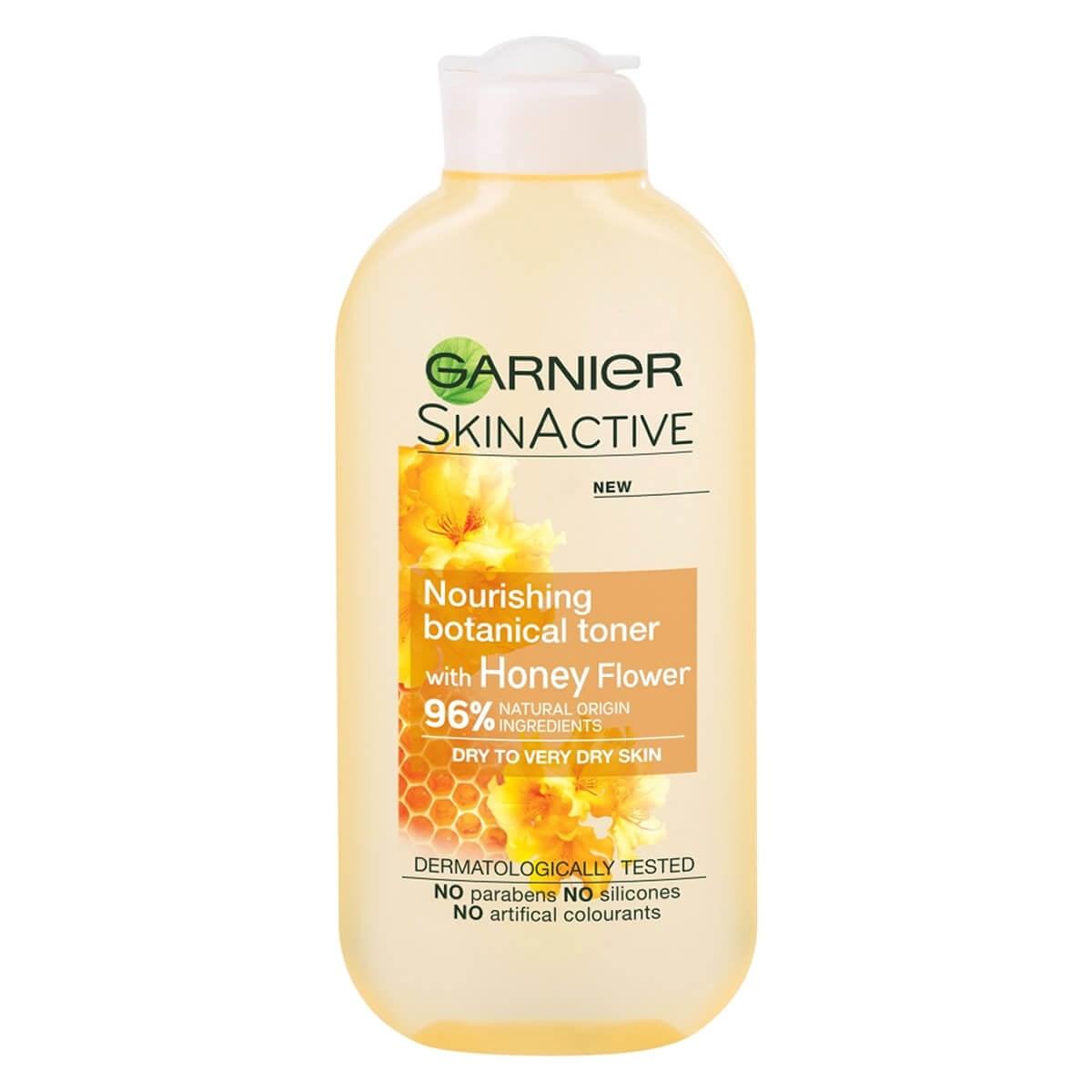 Garnier SkinActive Natural Honey Flower Toner Dry Skin