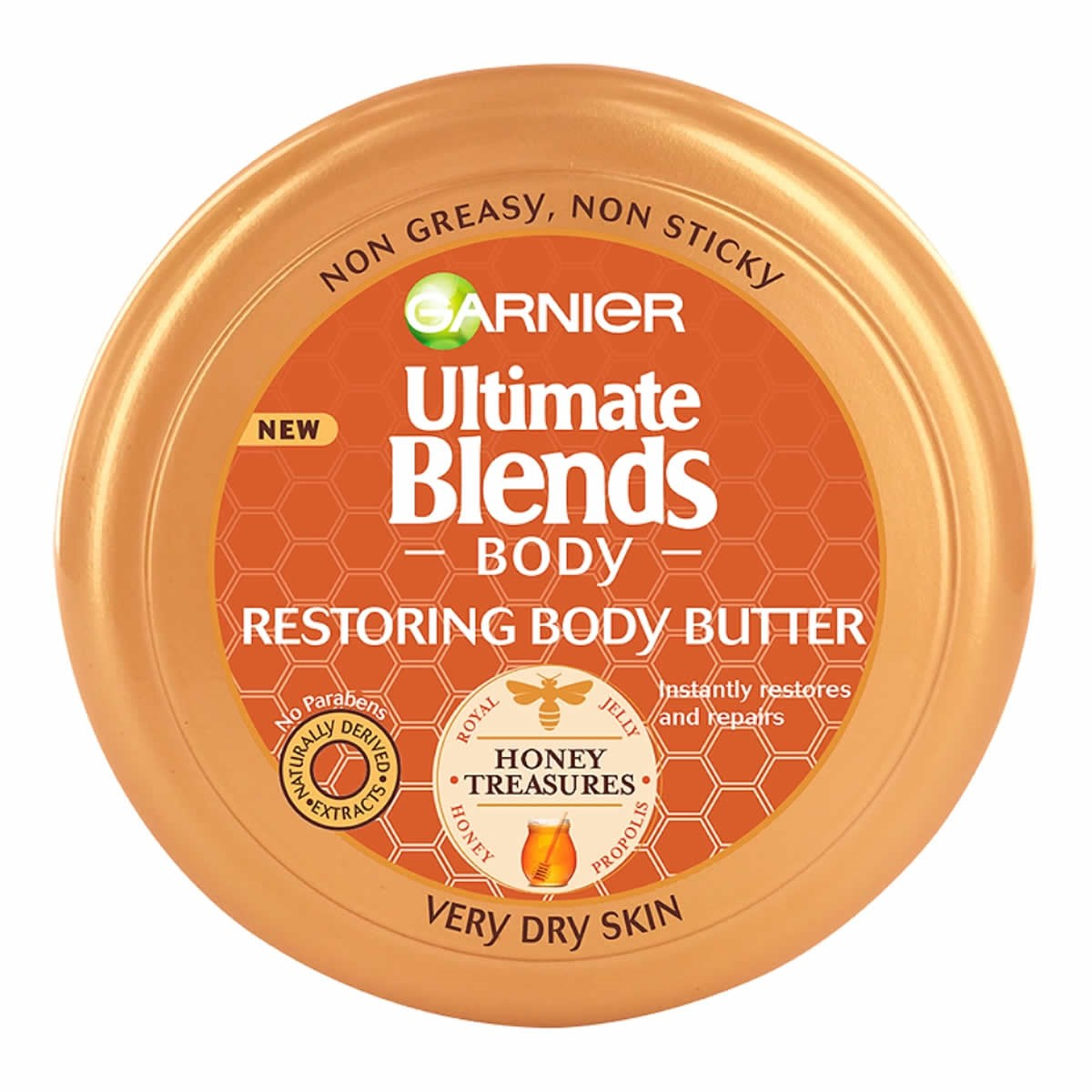 Garnier Ultimate Blends Body Honey Treasures Restoring Butter