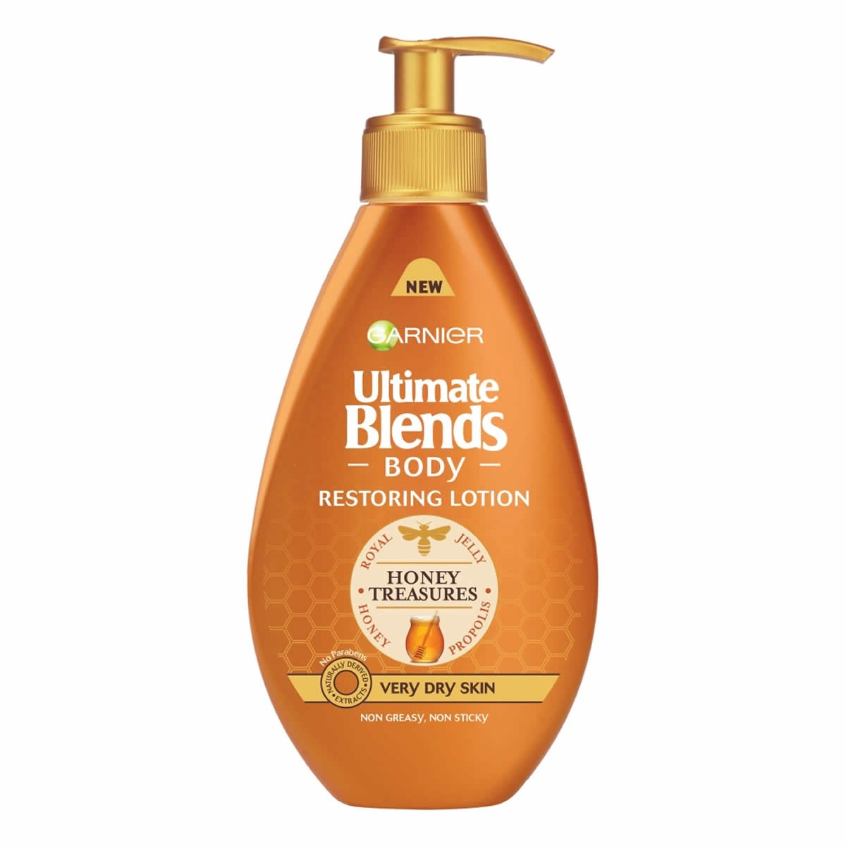 Garnier Ultimate Blends Body Honey Treasures Restoring Lotion