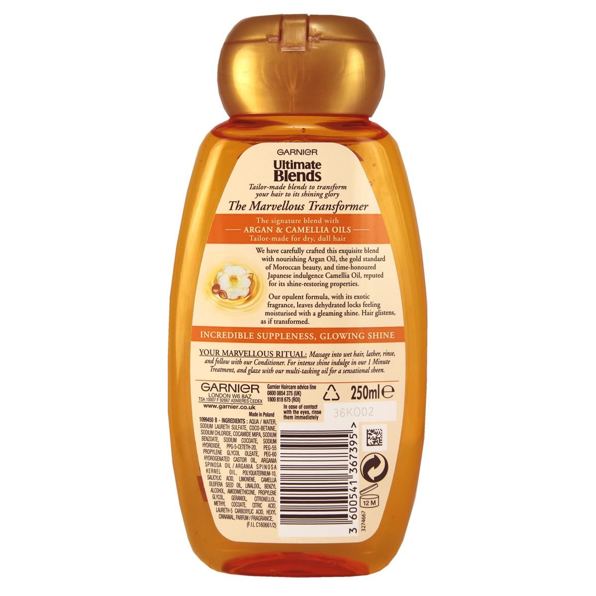 Garnier Ultimate Blends The Marvellous Transformer Shampoo