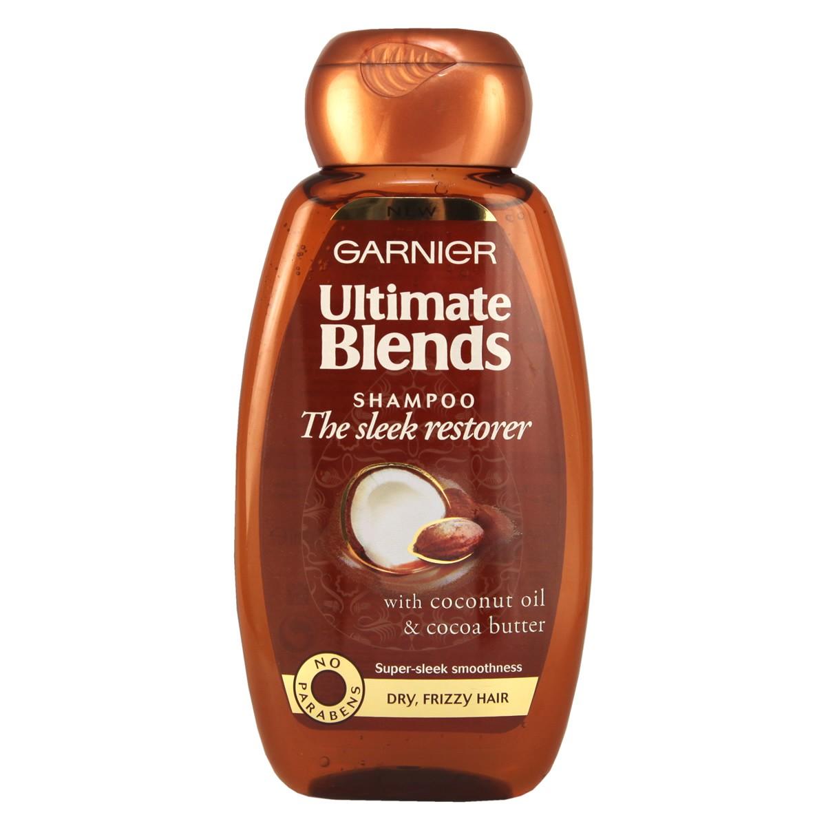 Garnier Ultimate Blends The Sleek Restorer Shampoo