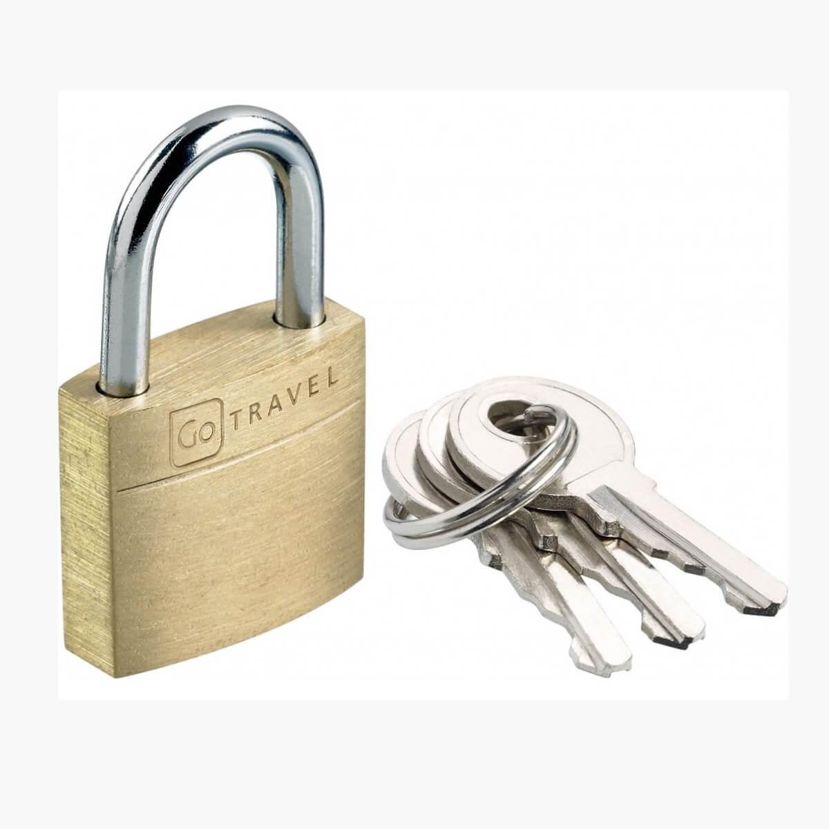 Go Travel Case Lock Single