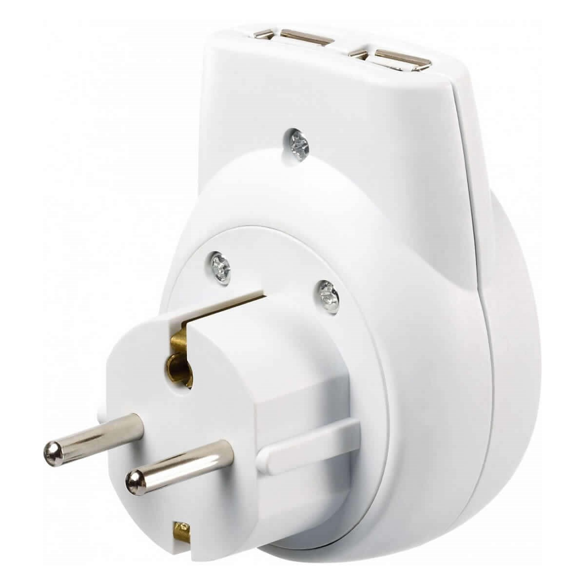 Go Travel Continental USB Adaptor (Visitor - Europe)