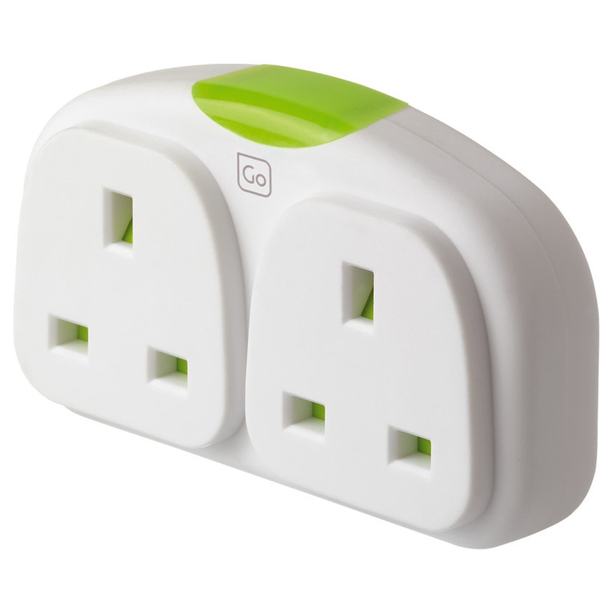 Go Travel US Double Adaptor (UK - Americas)