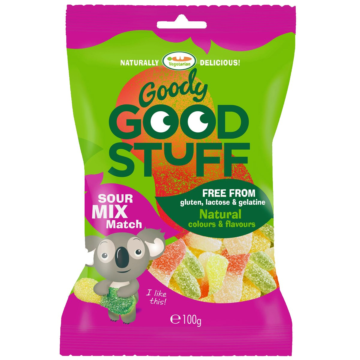 Goody Good Stuff Gummy Candy Sour Mix Match