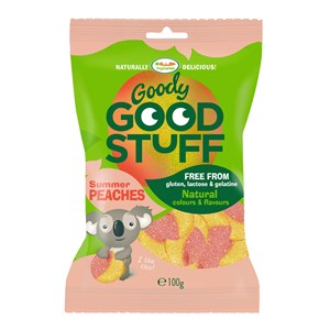 Goody Good Stuff Gummy Candy Summer Peaches