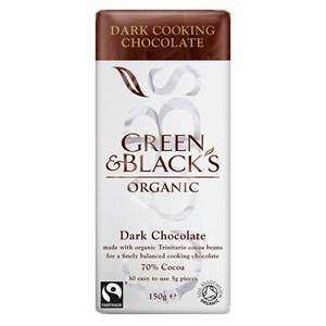 Green & Black's Organic Dark Cooking Chocolate