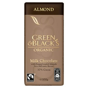 Green & Black's Organic Almond Milk Chocolate