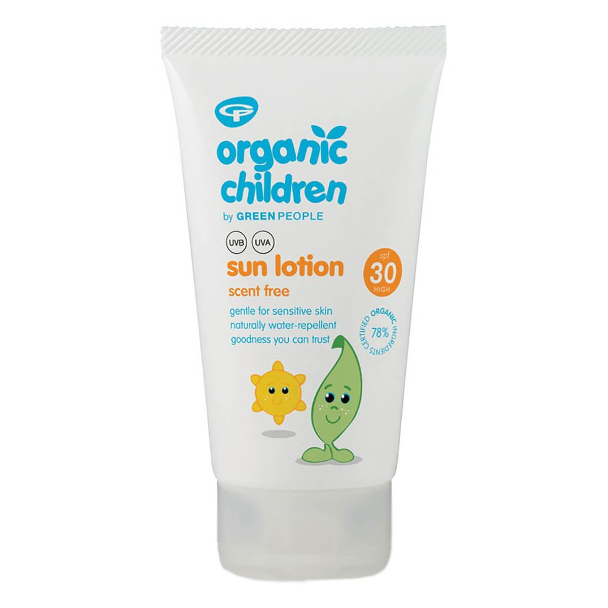 Green People Organic Children Sun Lotion SPF30 - Scent Free