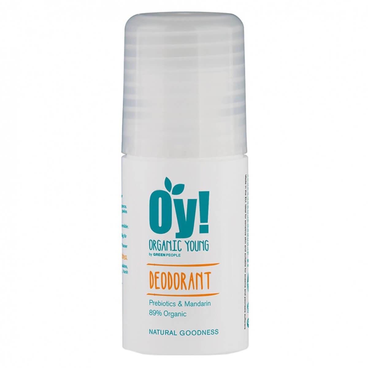 Green People Organic Oy! Prebiotics & Mandarin Deodorant
