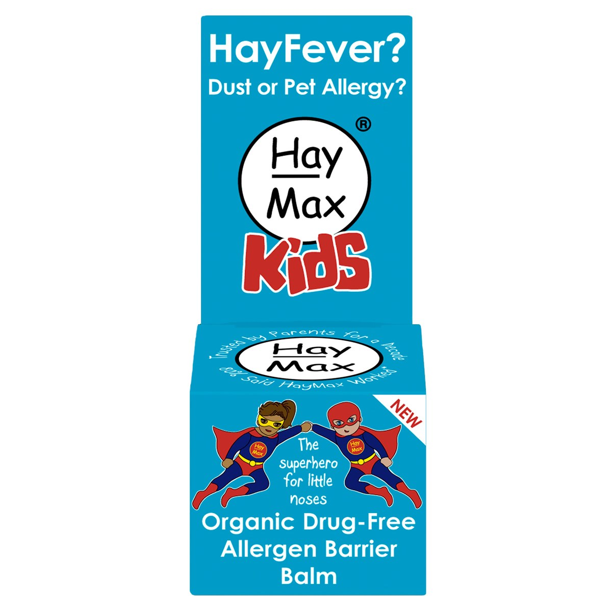 Haymax Kids Organic Drug-Free Allergen Barrier Balm