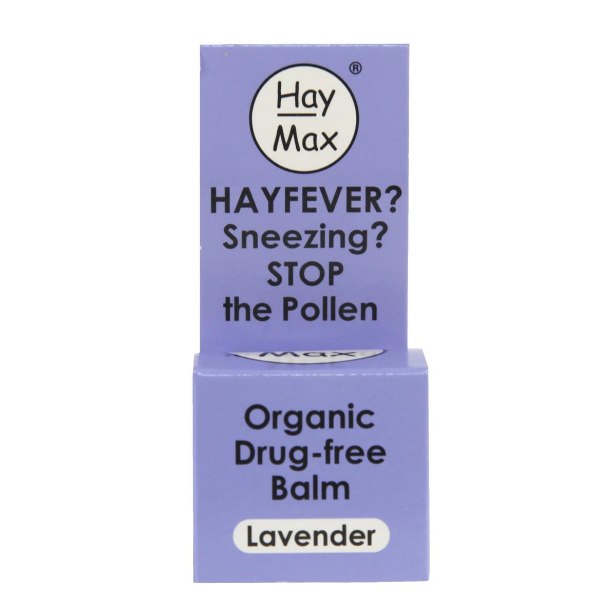 HayMax Organic Drug-free Balm - Lavender