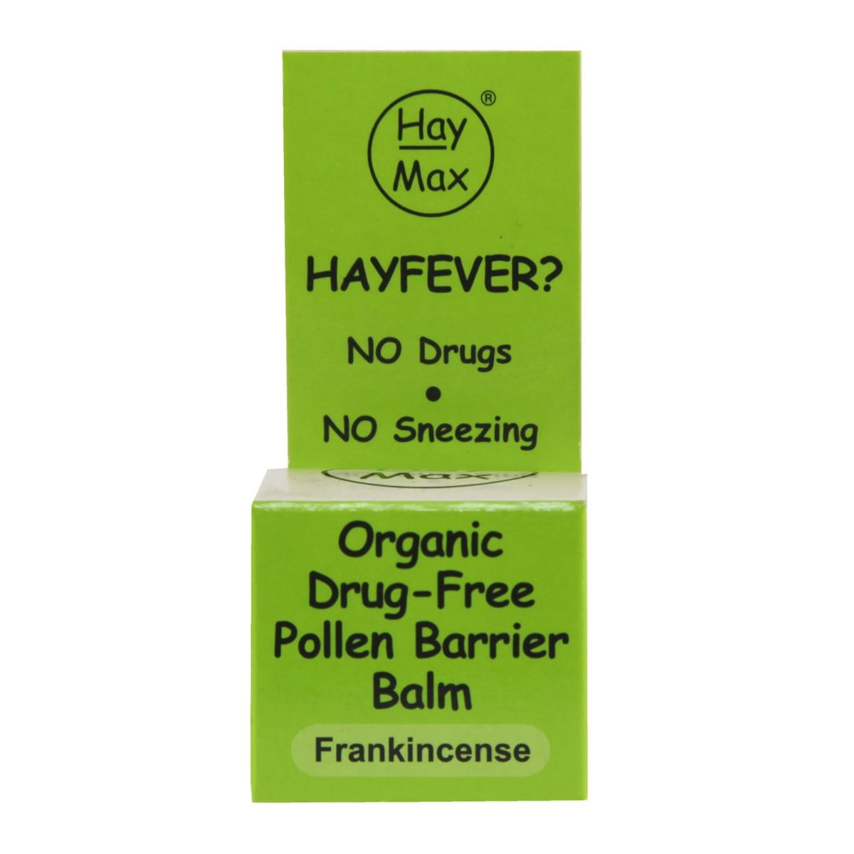 HayMax Organic Drug-free Pollen Barrier Balm - Frankincense