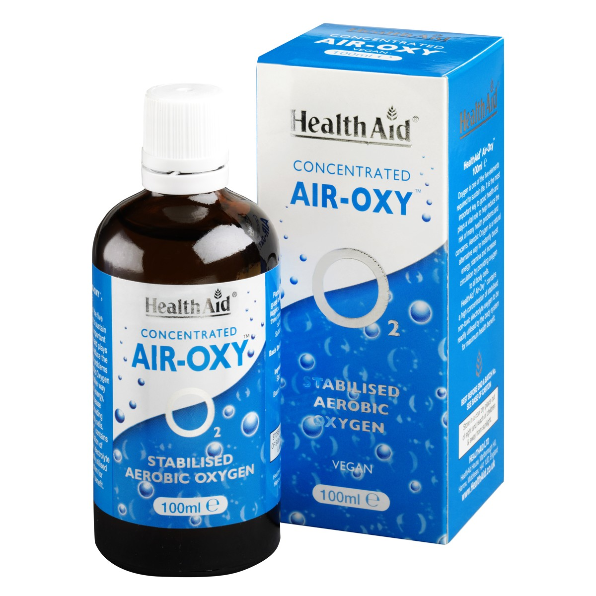 HealthAid Air Oxy (Stabilised Aerobic Oxygen) Liquid