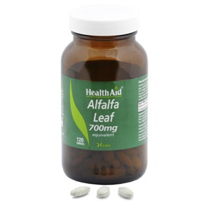 HealthAid Alfalfa 700mg Tablets
