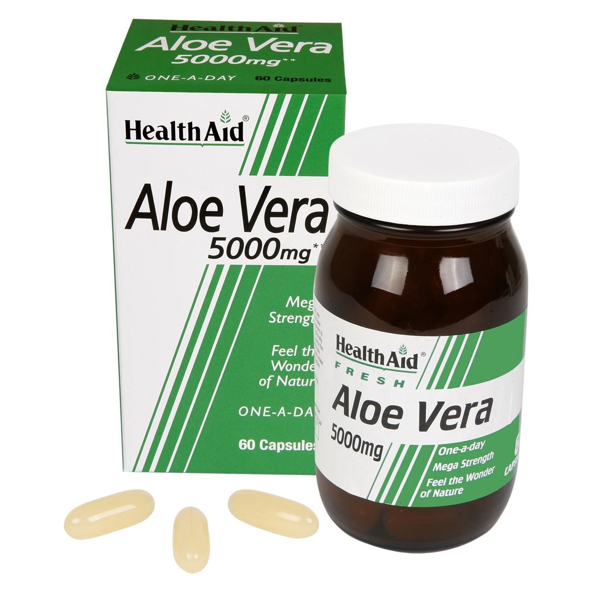 HealthAid Aloe Vera 5000mg