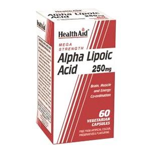 HealthAid Alpha Lipoic Acid 250mg