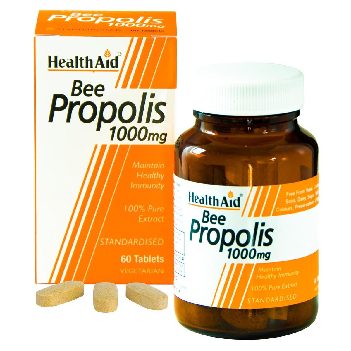 HealthAid Bee Propolis 1000 - Standardised Tablets
