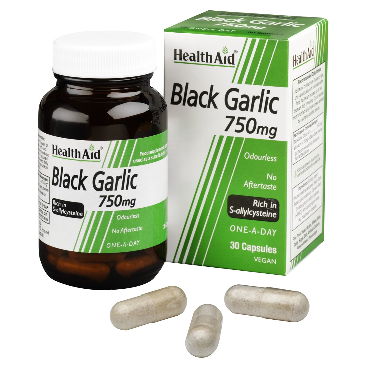 HealthAid Black Garlic 750mg