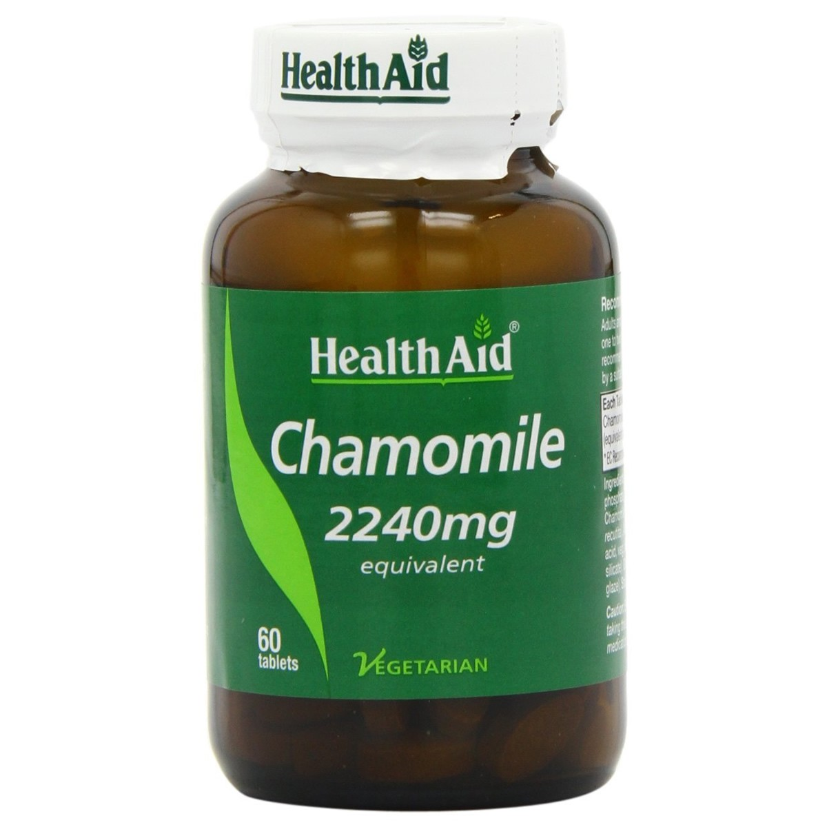 HealthAid Chamomile 2240mg - Standardised Tablets