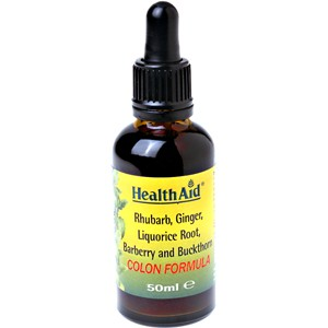 HealthAid Colon Cleanse (Rhubarb, Ginger, Liquorice) Liquid 50ml