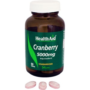 HealthAid Cranberry 5000mg - Standardised Tablets