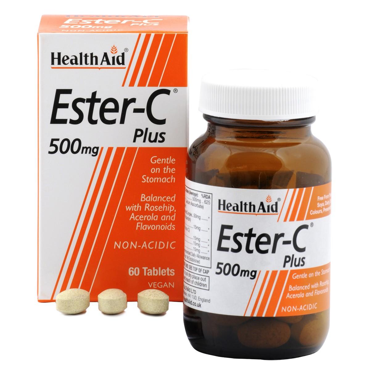 HealthAid Ester-C Plus 500mg