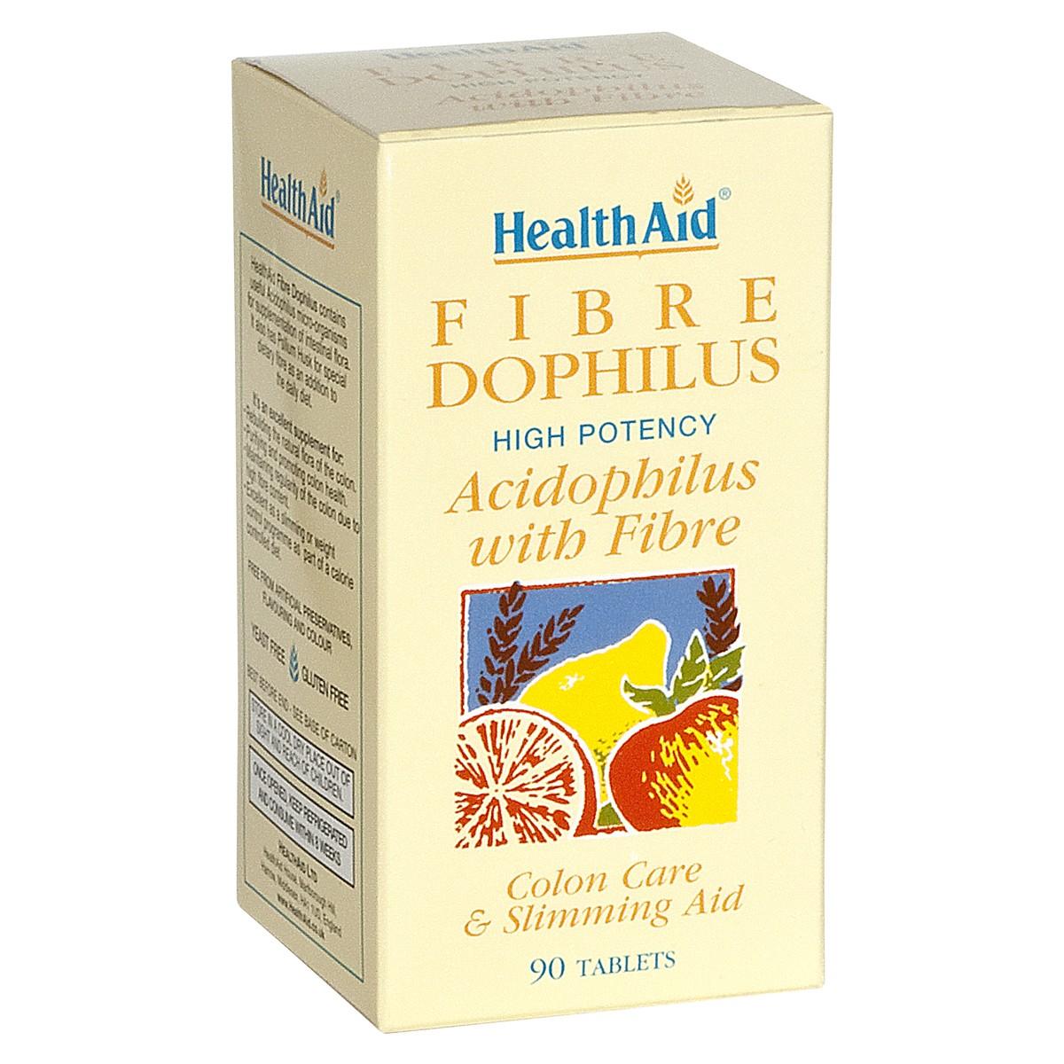 HealthAid Fibre Dophilus (Fibre, Probiotics)