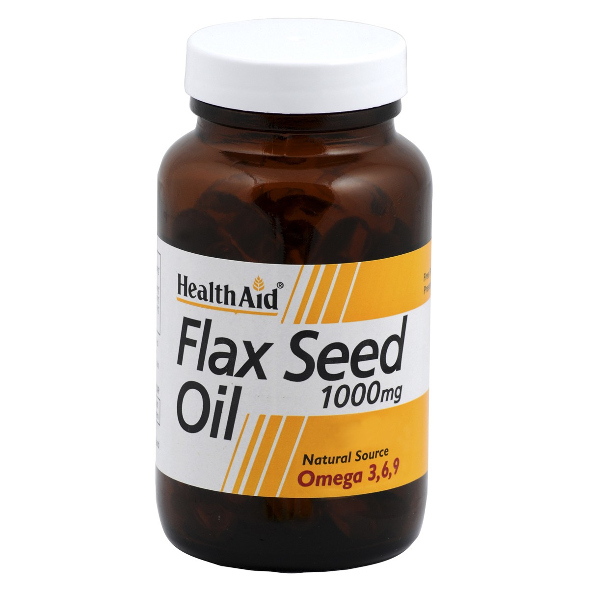 HealthAid Flaxseed Oil 1000mg Capsules