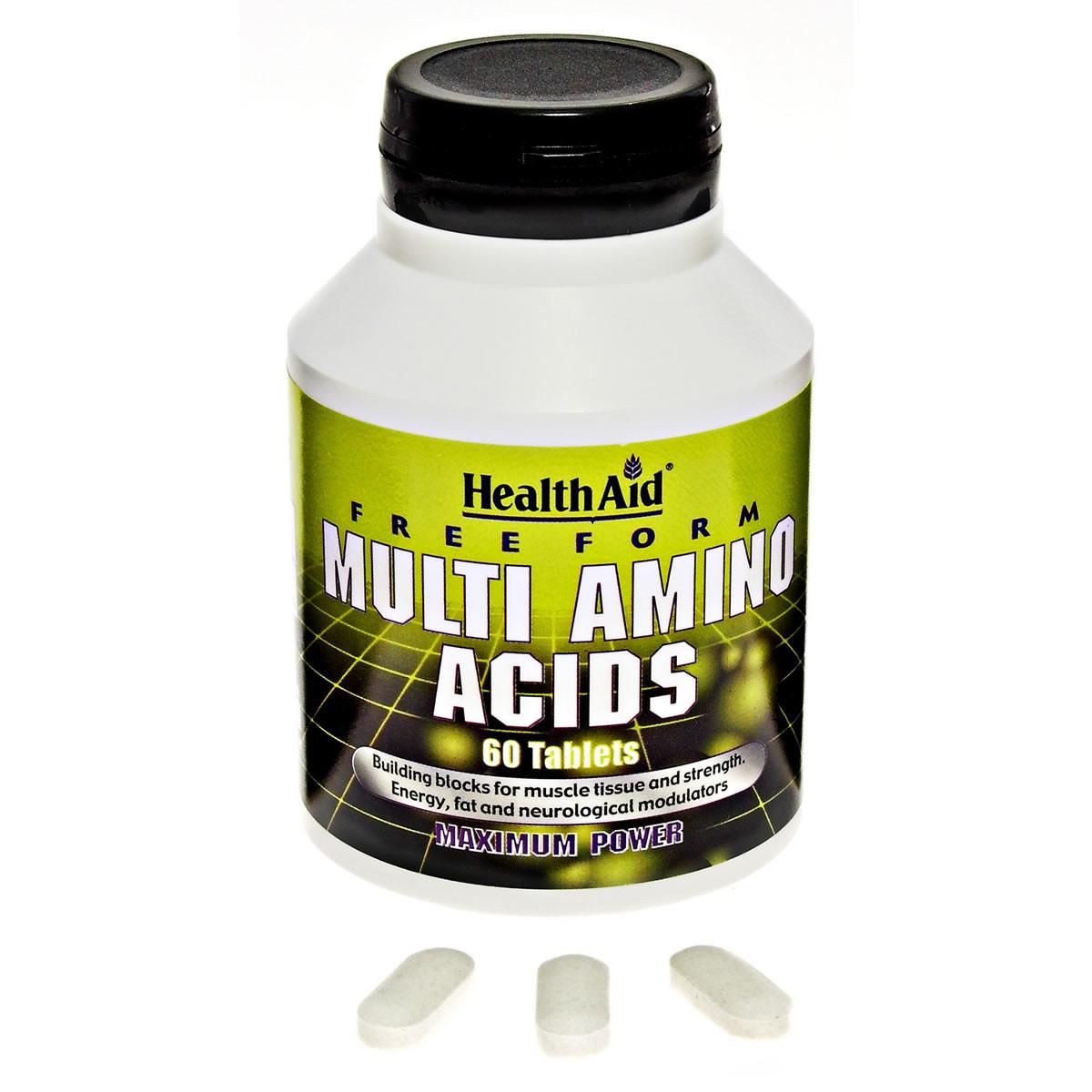 HealthAid Free Form Multi Amino Acids