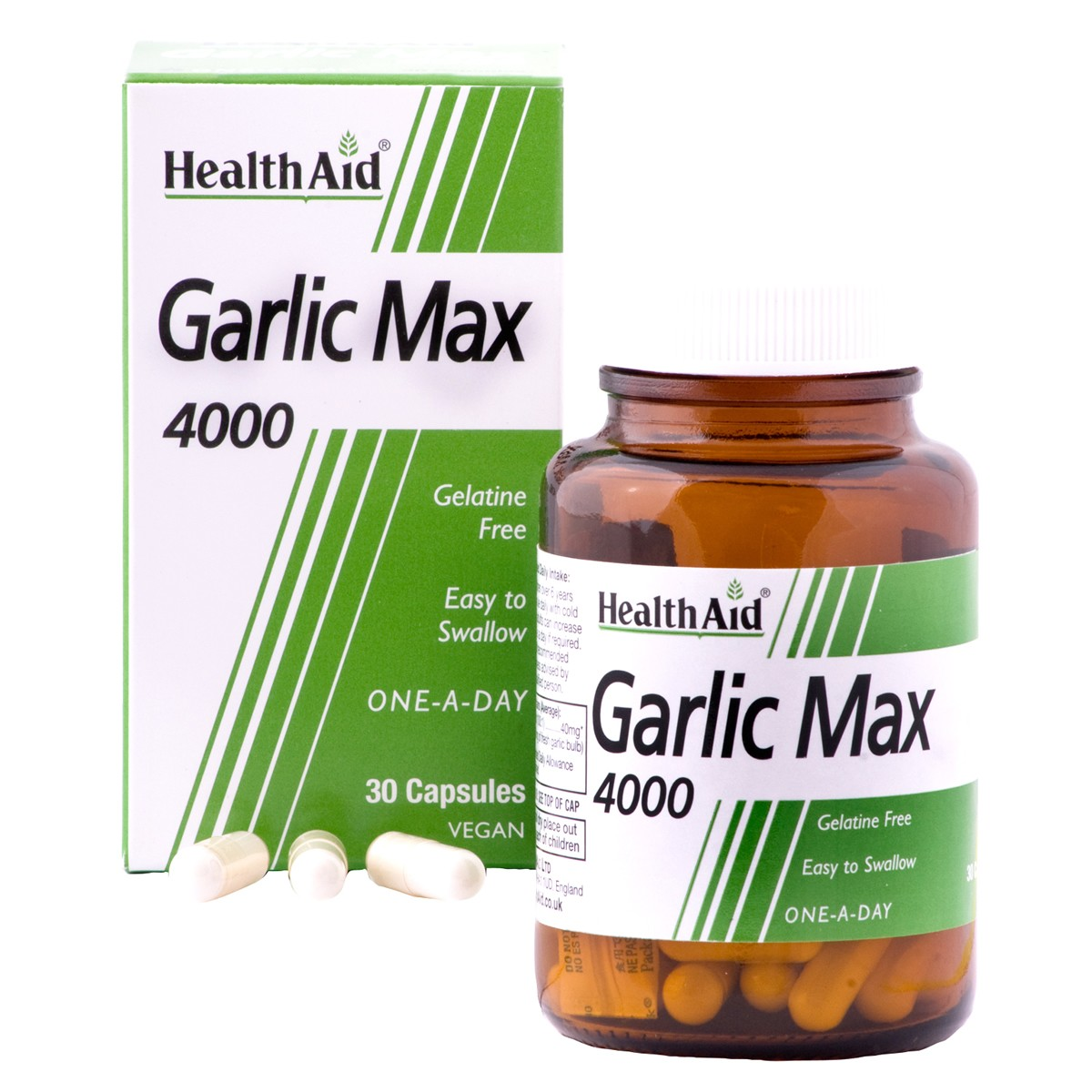 HealthAid Garlic Max 4000 Vegicaps