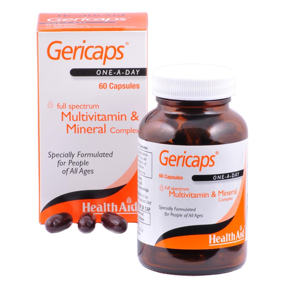 HealthAid Gericaps Multivitamins + Minerals