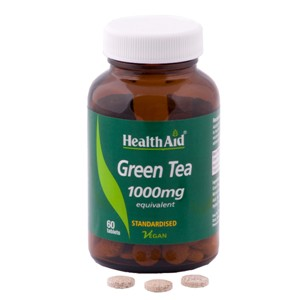 HealthAid Green Tea Extract 100mg - Standardised Tablets