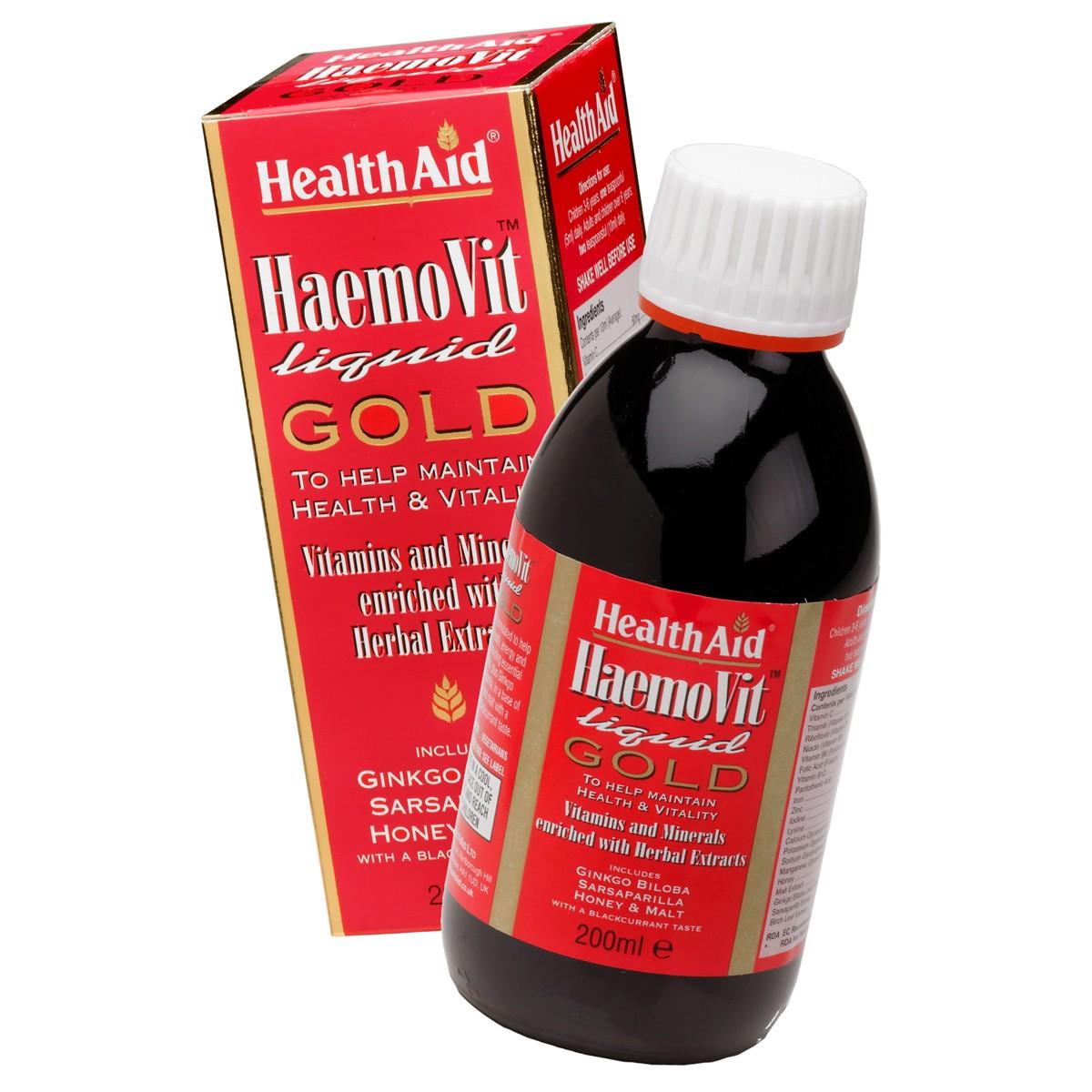 HealthAid Haemovit Gold Tonic Liquid
