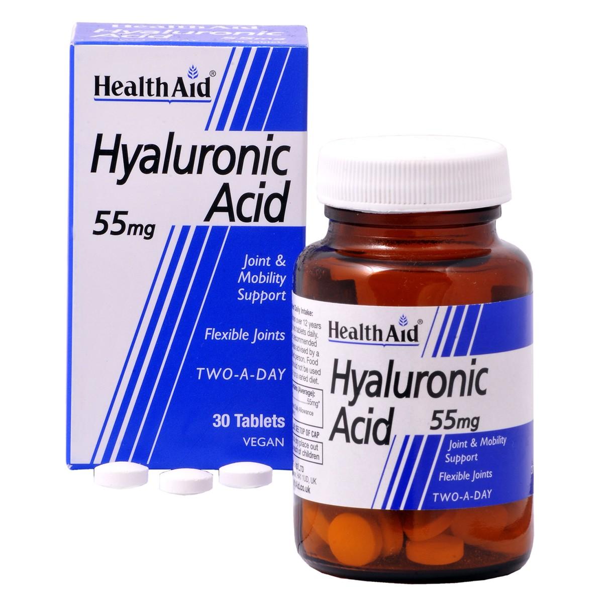 HealthAid Hyaluronic Acid 55mg